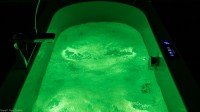 Pegasus chromotherapy apple green light in whirlpool bath